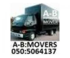 A/B House Office Movers Packers Shifters 050 5064 137 IRFAN