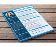 We will Design a Professional Resume for you