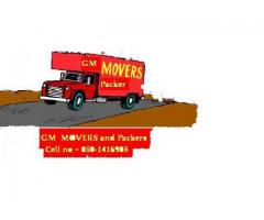 GM Movers and  Packers  0501416905  Malik