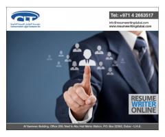 Resume Writing Services in Dubai, UAE