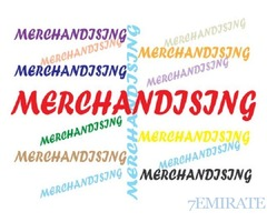 Production Merchandiser Requied with UAE Driving Licences