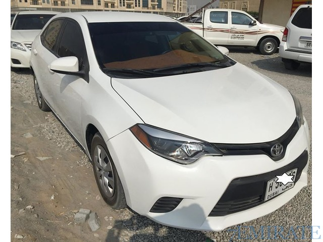 toyota corolla 2014 for sale in sharjah sharjah 7emirate best place to buy sell and find job. Black Bedroom Furniture Sets. Home Design Ideas