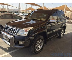 Toyota Prado 2004 black 2 doors very clean