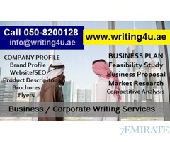 Discounted Rates Business Plan Writing Services CALL 050-8200128