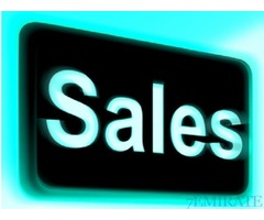 Urgently Required Salesman and Sales Ladies in Sharjah