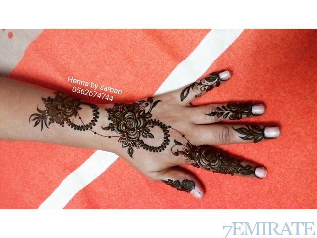 Best henna artist in abu dhabi uae