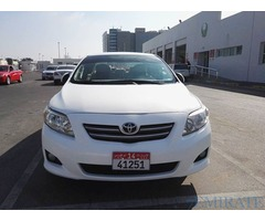 Corolla 2009 for sale or exchange in Abu Dhabi