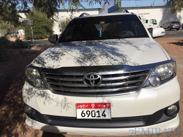 Toyota Fortuner 2012 Model for Sale in Al Ain
