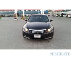 Honda Accord Model 2012 for Sale in Sharjah