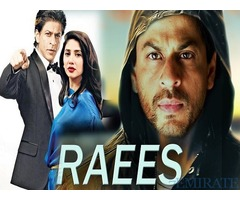 Raees Movie Tickets for Sale in Dubai