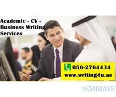 0562764434 Academic Help- CV- Corporate Writing Services in Dubai, UAE