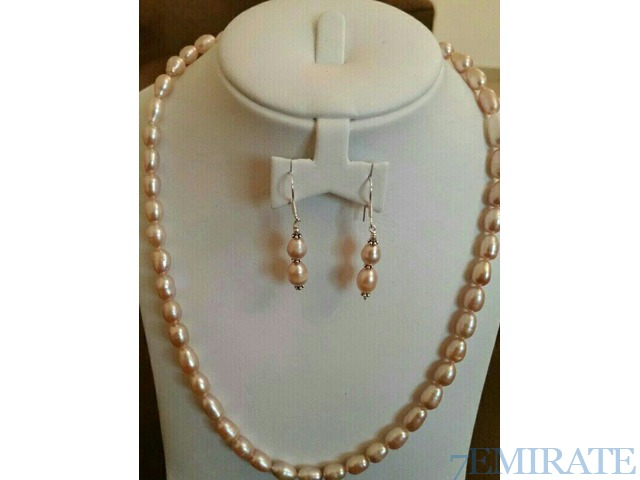 Rarejewels pearl silver necklace