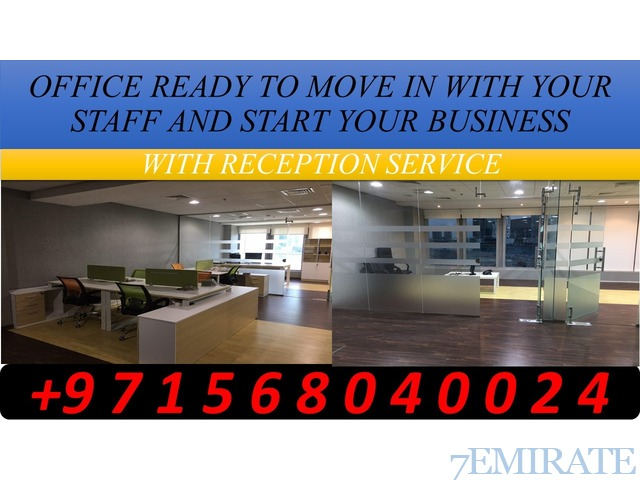 OFFICE READY TO MOVE IN WITH YOUR STAFF AND START YOUR BUSINESS