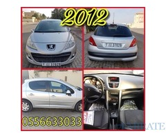 PEUGEOT 2012 FOR SALE