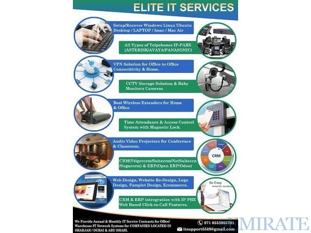 Best IT Services in Arabian Ranches | Jumeirah | Dubai Sport City | Motor City