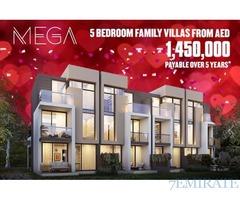 Valentine Offer*Invest in a 5 bedroom villa in an international golf