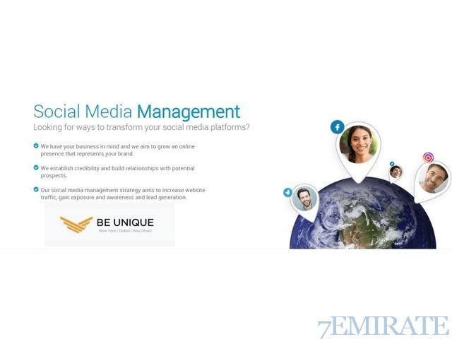 Be Unique Group Social Media Management In Dubai