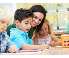 Native English speaking Teacher Required for Nursery in Abu Dhabi