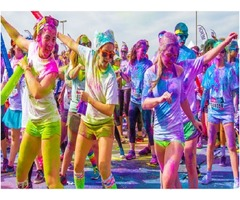 The Color Run tickets for sale in Abu Dhabi