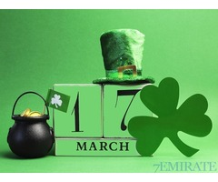 4 tickets to Paddy's day party for Sale in Dubai