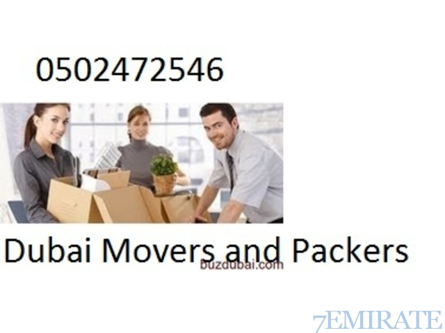 Dubai Movers and Packers 0502472546 In Satwa