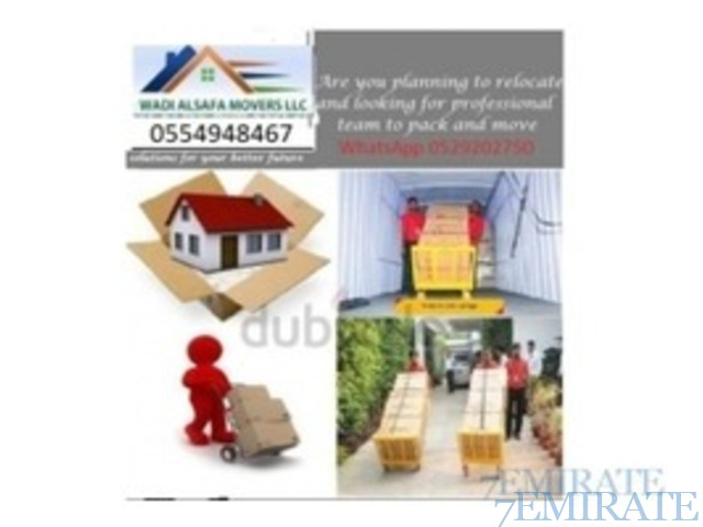 WADI AL SAFA MOVERS PACKERS LLC 0554948467 YOUSIF