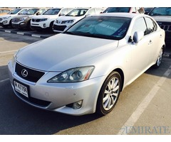 Lexus Is300 GCC Spec Model 2007 for Sale in Dubai