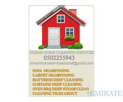 Cleaning curtains mattress chair sofa carpet Dubai