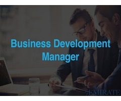 Business Development Manager Job in Dubai