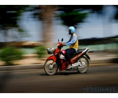 Bike Drivers is Required for a Restaurant in Dubai