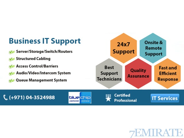 Managed IT Services in Dubai UAE - Bluechip Computer Systems LLC