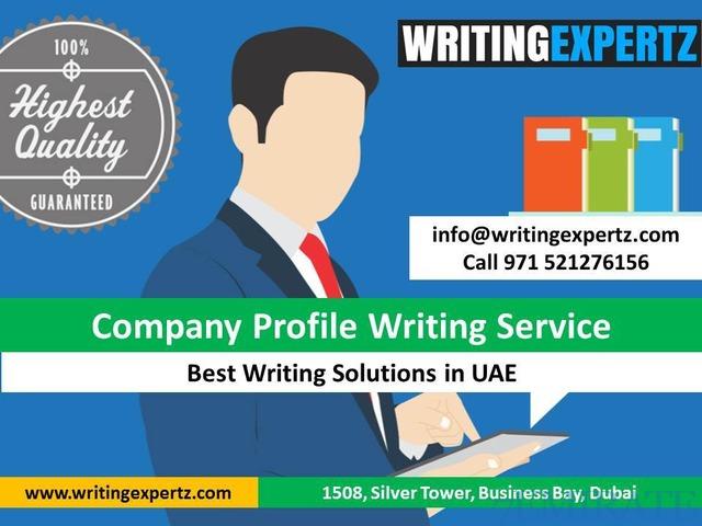 Professional Company Profile Writers in Dubai Call 0521276156