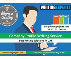 Professional Company Profile Writers in Dubai Call 0521276156
