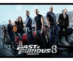 Fast and Furious 8 MOvie ticket for sale in Dubai