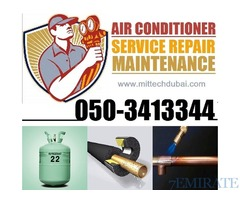 Split Ac , Central Ac , Chiller FCU Unit Service Maintenance 0503413344
