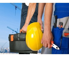 Required driver/plumber/labour for a contuction commpany