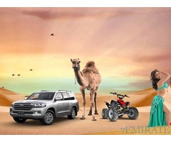 Tickets for Desert Safari with Dinner