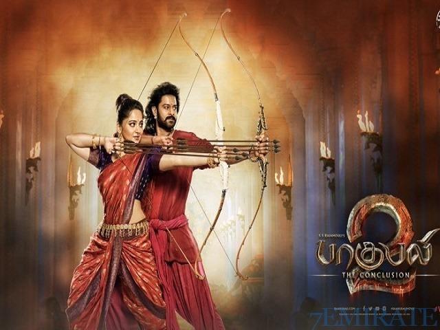 Movie Ticket for Bahubali 2 Telegu Version in Dubai