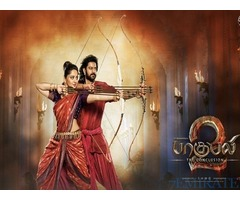 Movie Ticket for Bahubali 2 Telegu Version in Dubai
