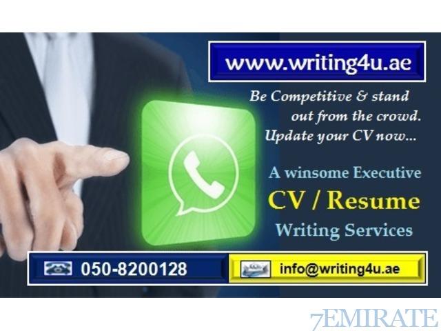 Best executive cv writing service