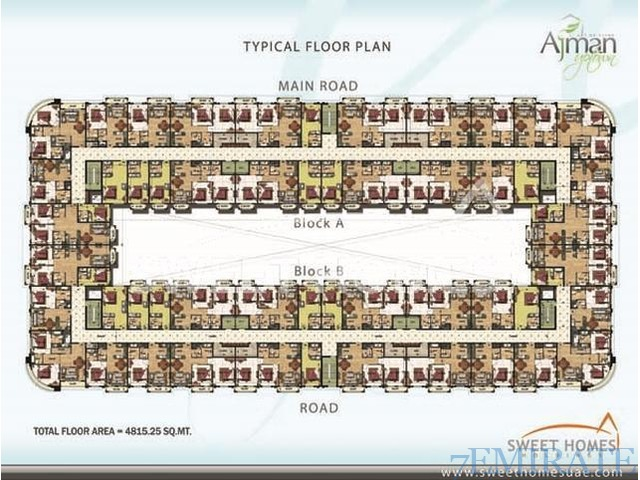 Pay only AED 2933 monthly to own a Studio in Ajman