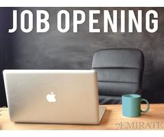 Admin Assistant Job in Dubai