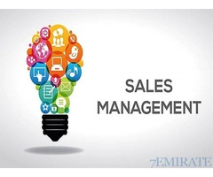 Sales Manager Wanted in Dubai