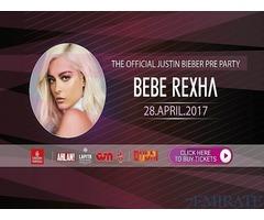 Bebe Rexha Concert Tickets for Sale in Dubai