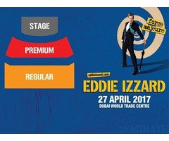 Premium Tickets for Eddie Izzard Show for Sale in Dubai