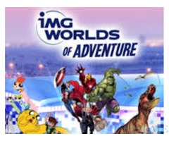 IMG adventure tickets 50% discount