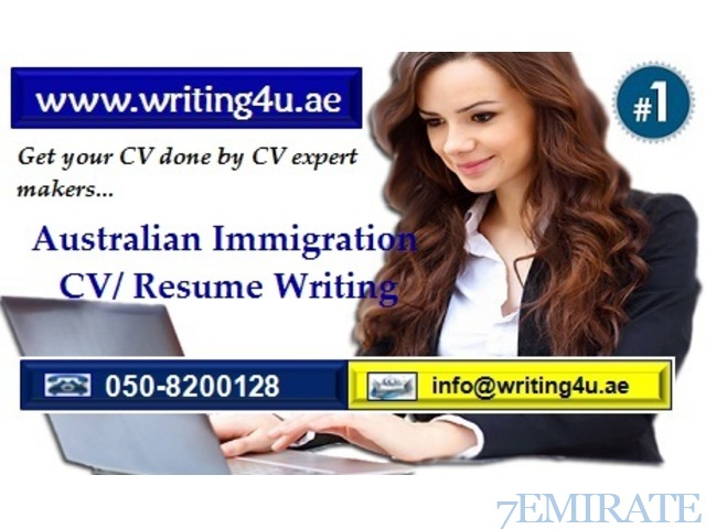 0508200128 Australian Immigration CV/ Resume Writing Services in UAE