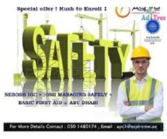 Health, Safety & Quality Training's at Special Discount in Abu Dhabi