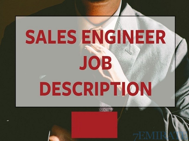 Sales Engineer Wanted for Company in Ajman
