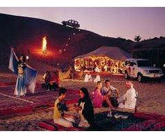 Desert Safari Adventure with lot of Fun Activities in Dubai
